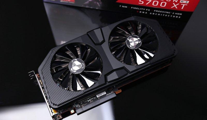 Xfx Radeon Rx 5700 Xt Black Wolf