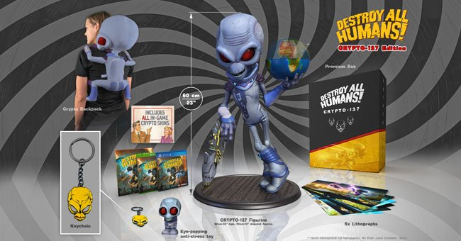 Destroy All Humans Special Edition