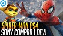 Sony compra gli sviluppatori di Marvel's Spider-Man