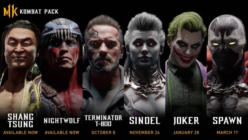 Mortal Kombat 11 Kombat Pack 1 Dates Leak 1