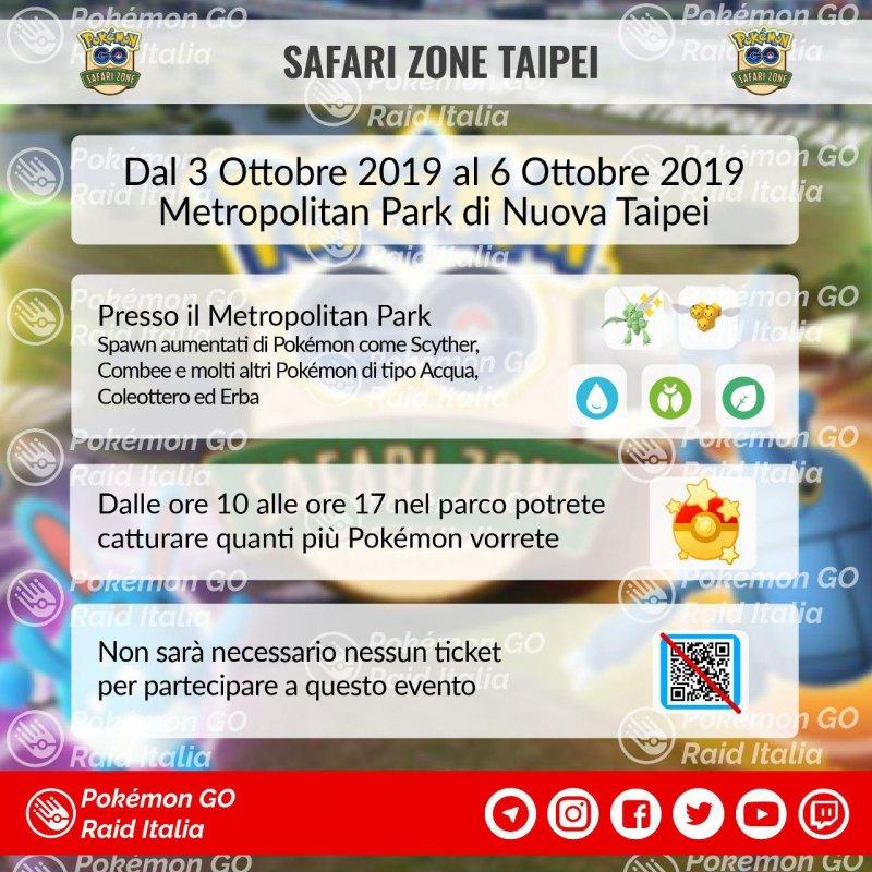 Pokemon Go Safari Zone Taipei 1