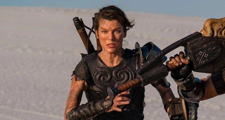 Monster Hunter, il film: Milla Jovovich  …