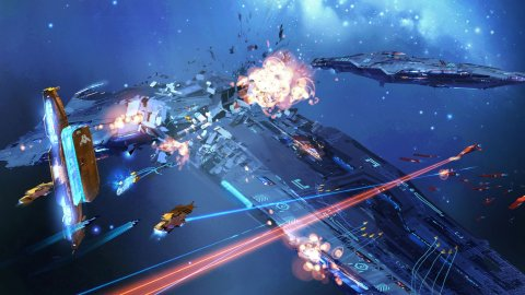 Homeworld 3, the Railgun Frigate trailer reminds us that the game is still alive