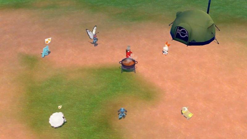 Pokemon Swsh Cooking Camp