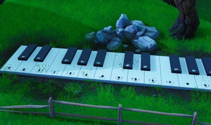 Fortnite Visita Piano Sovradimensionato 2