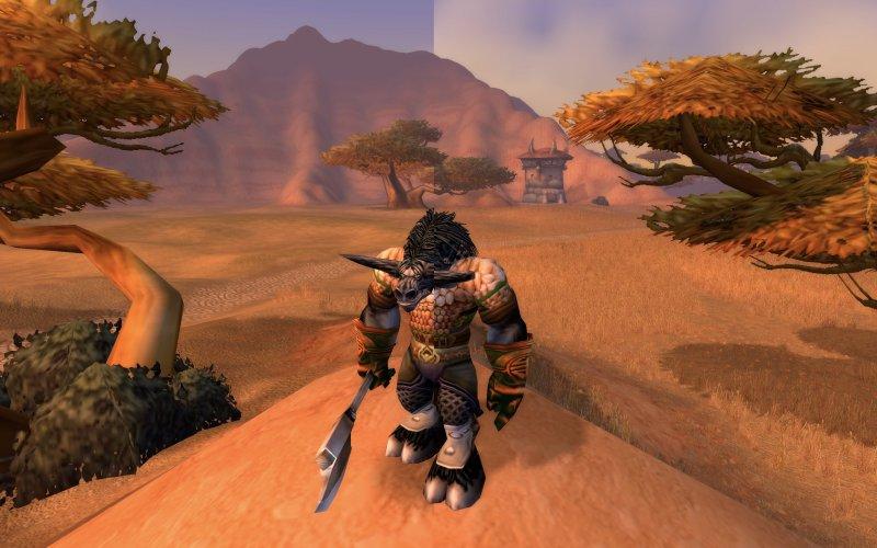 World Of Warcraft Classic Barrens Comparison