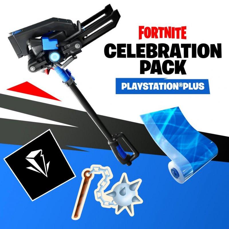 Fortnite Playstation Plus Celebration Pack 1