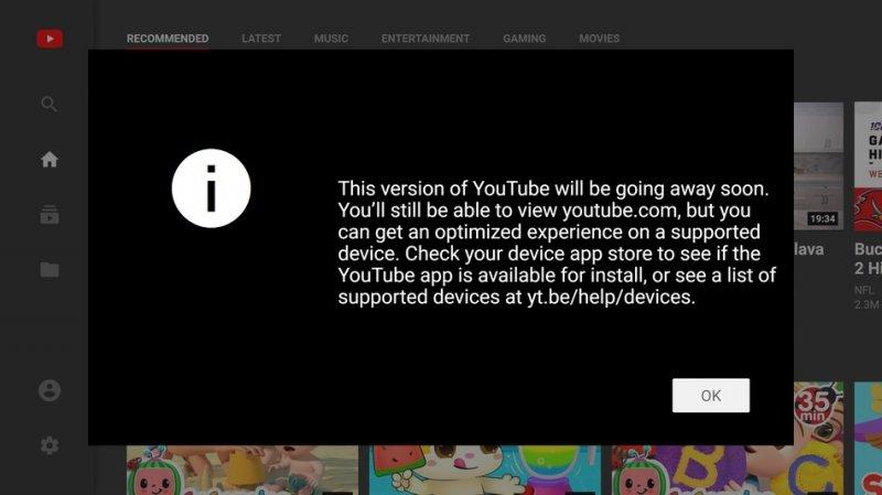 Youtube Smart Tv 1