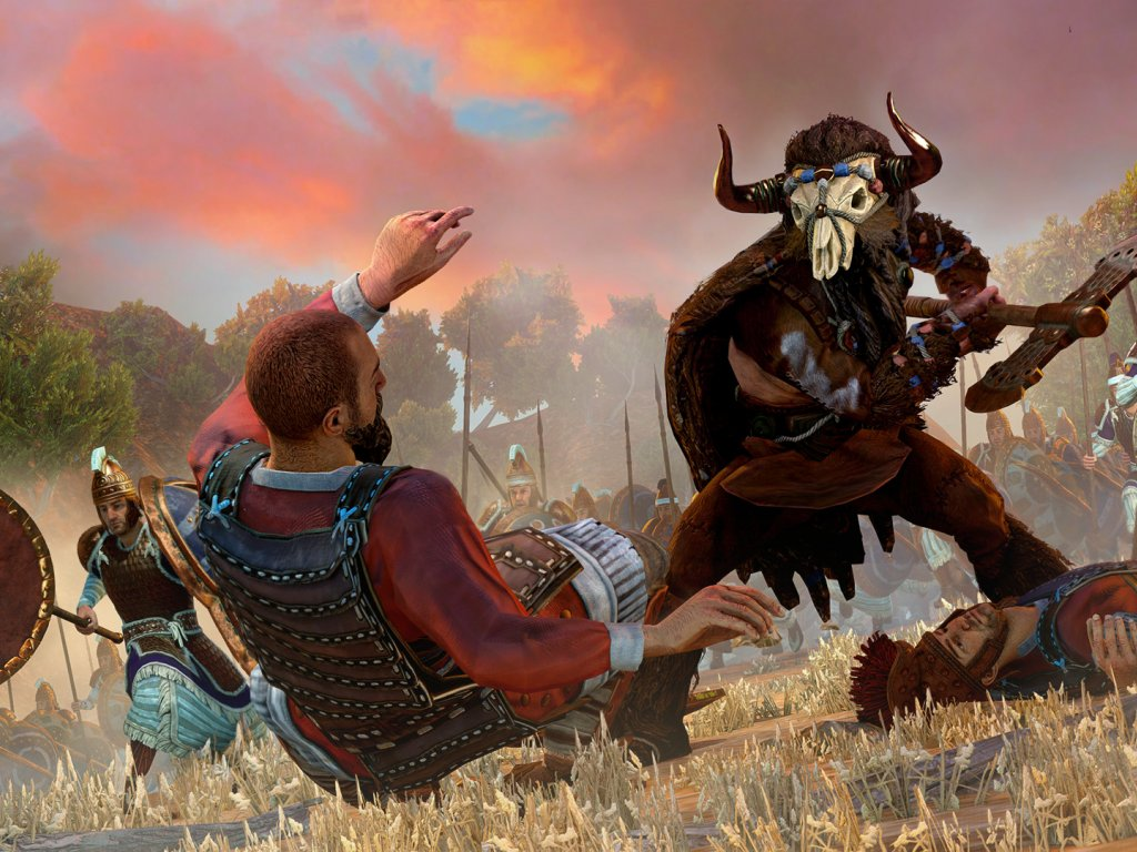 A Total War Saga: Troy was gifted to 7.5 million players