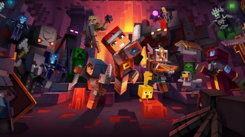 Minecraft Dungeons on Nintendo Switch is free for a few days as a free trial