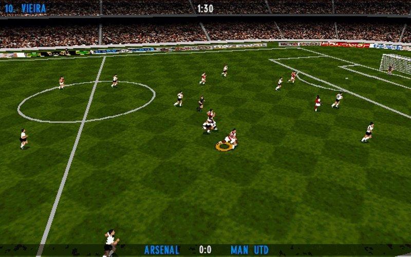 Actua Soccer Club Edition 4
