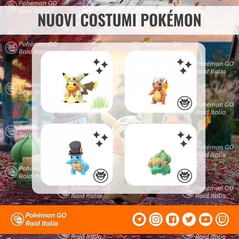 Pokemon Go Halloween 2019 Shiny 1