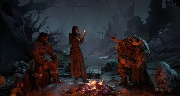 Diablo 4, il Druido protagonista del nuovo video di gameplay