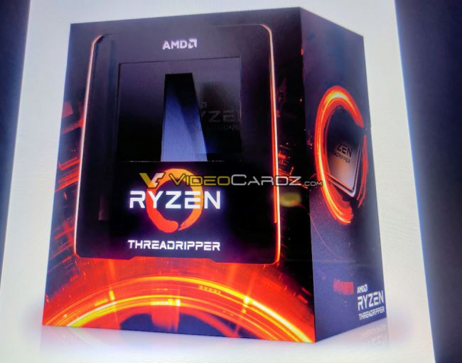 Amd Threadripper 3000 Package