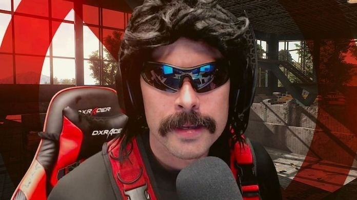 Dr Disrespect forced to play Fall Guys on YouTube, the comeback is already a record