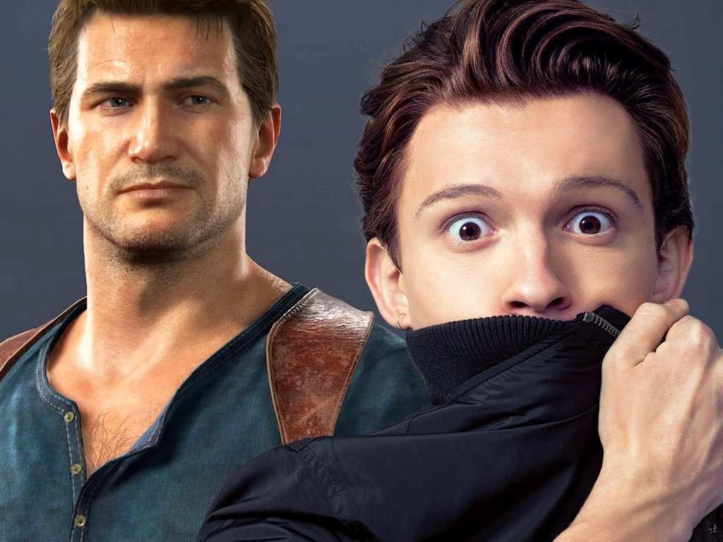 Uncharted The Movie Tom Holland Began To Turn Into Nathan Drake
