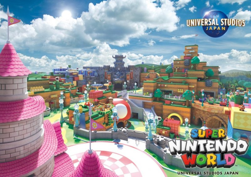 Super Nintendo World Visual
