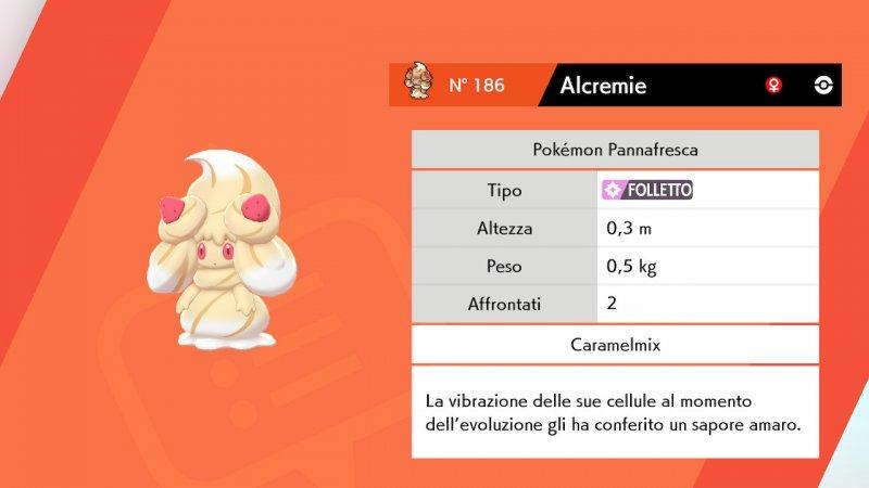 Alcremie Caramello