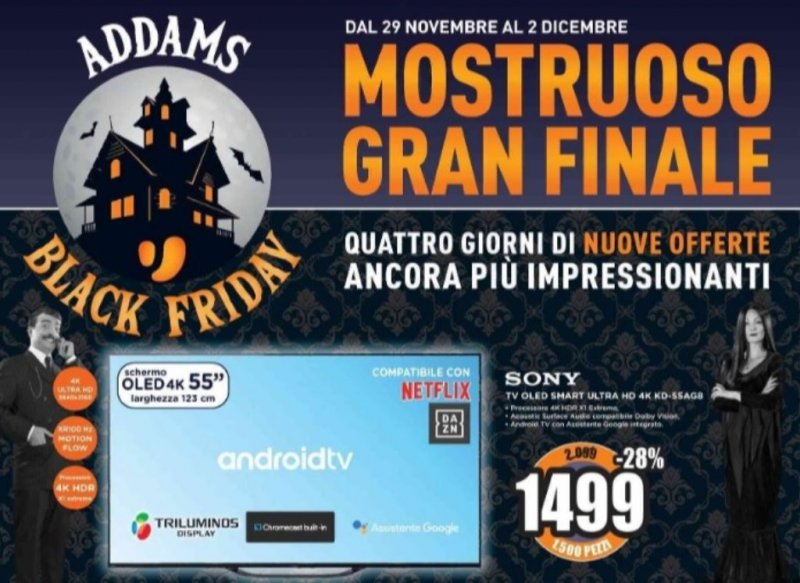 Volantino Mediaworld, con il Black Friday