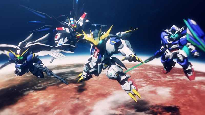 Sd Gundam G Generation Cross Rays 1