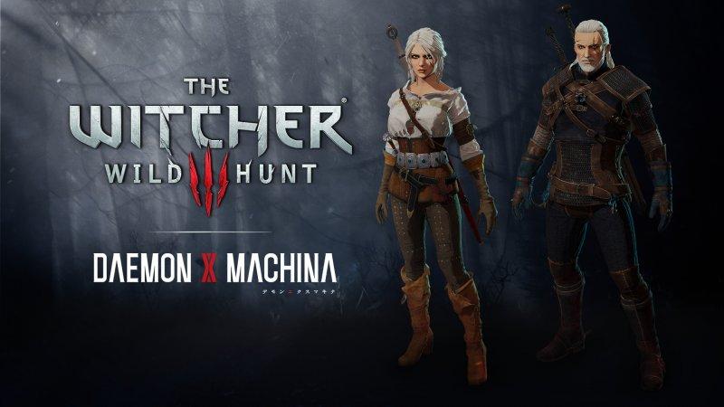 The Witcher Daemon X Machina Dlc