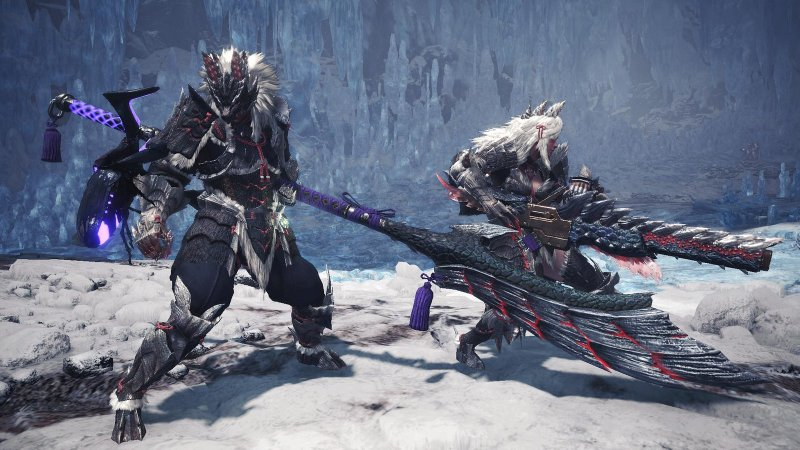 Monster Hunter World Iceborne Gets New Tundra Region Stygian Zinogre 1