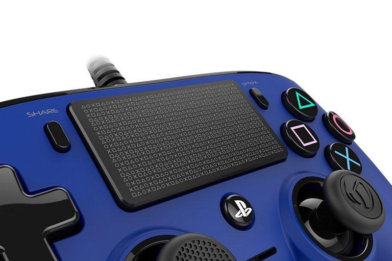 Nacon Compact Controller Blu Ps4 1