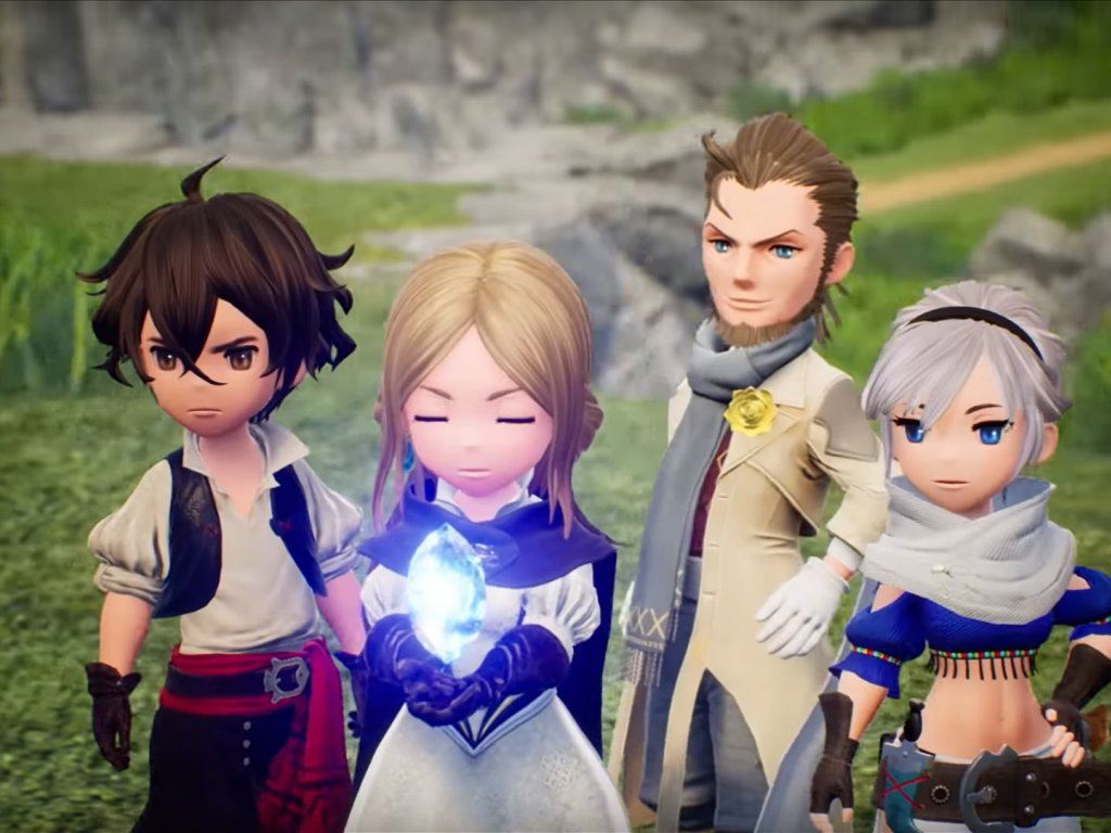 Bravely Default 2, the preview of the Nintendo Direct Mini