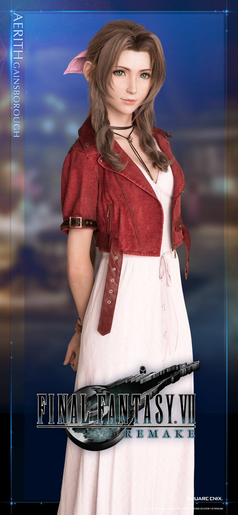 Final Fantasy 7 Remake, rilasciati i wallpaper di Tifa e ...