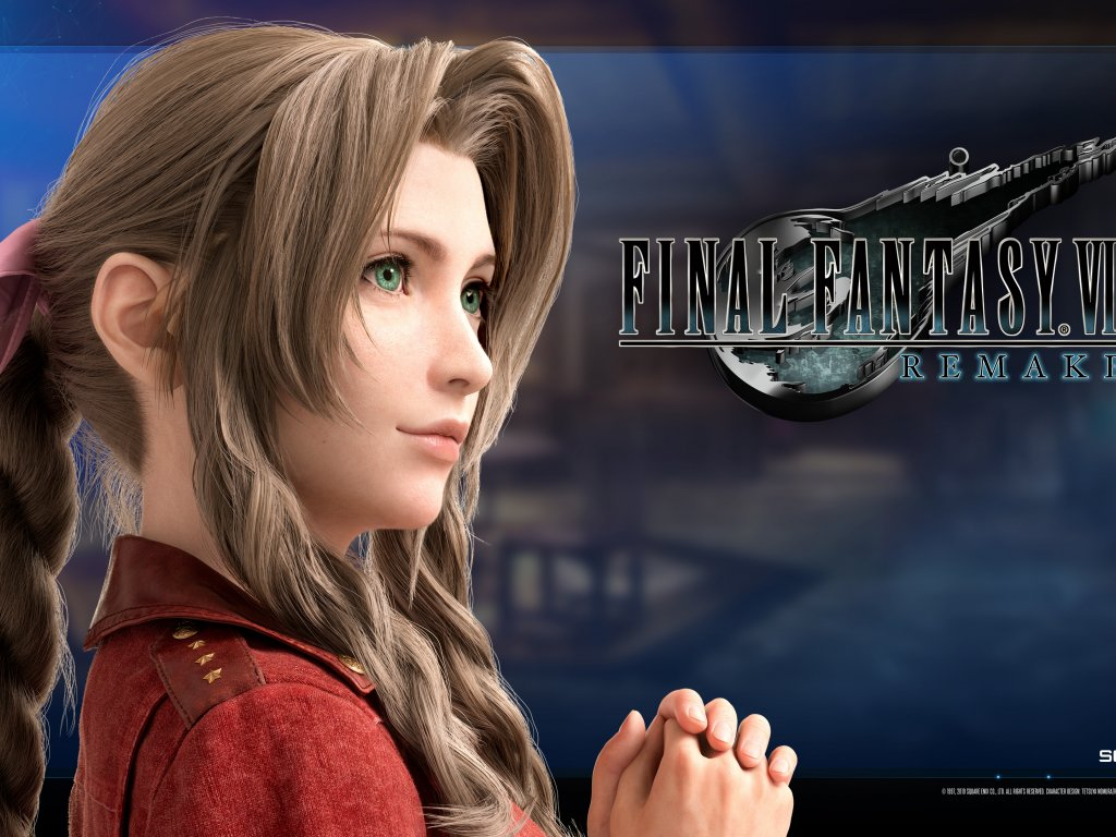 Final Fantasy 7: Aerith is very provocative in Lyvlas cosplay