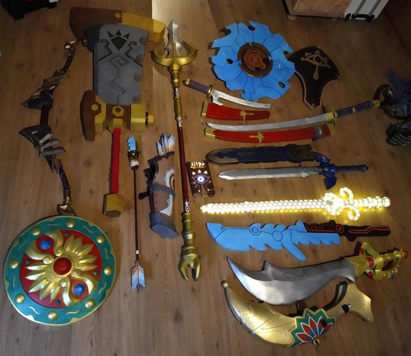 Armi Zelda