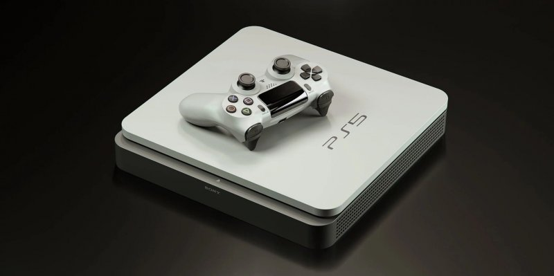 Ps5 Fanmade White