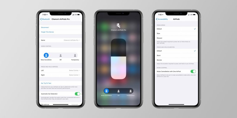 Airpods Pro Noise Controls
