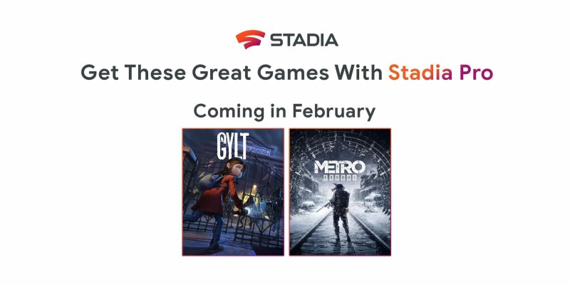 Stadia Pro February 2020 Games Cover