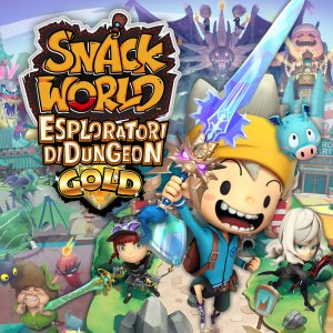 Snack World: Esploratori di Dungeon - Gold per Nintendo Switch
