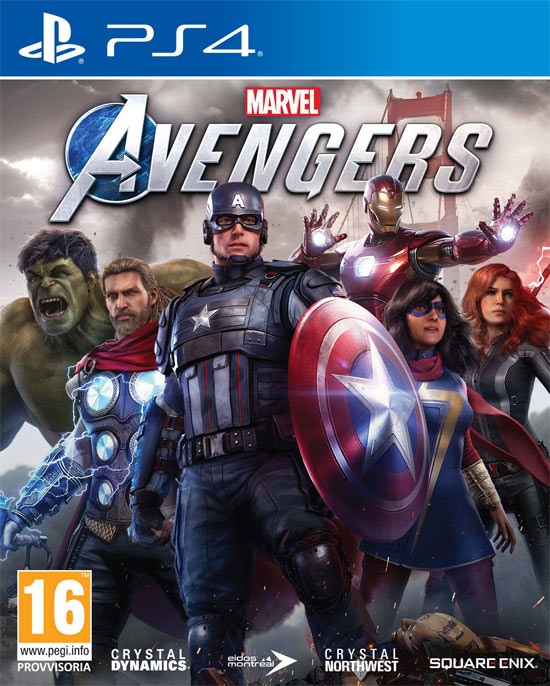 Gamestop Marvels Avengers 1