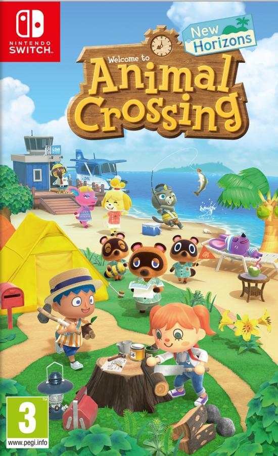 Gamestop Animal Crossing New Horizons 1