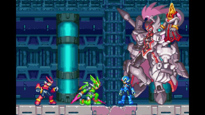 Mega Man Zero Zx Legacy Collection 3