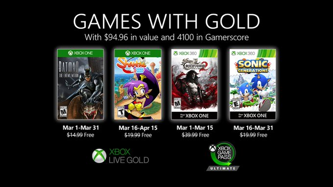 Games With Gold Juni 2020