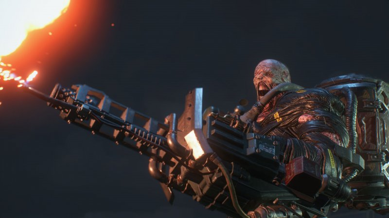 Re3 Nemesis And Flamethrower 3Ogwful
