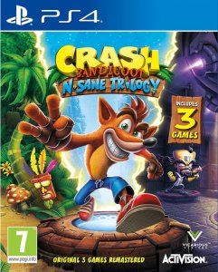 Crash Bandicoot: N. Sane Trilogy per PlayStation 4