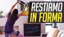 Teniamoci in forma restando a casa: videogiochi di Fitness