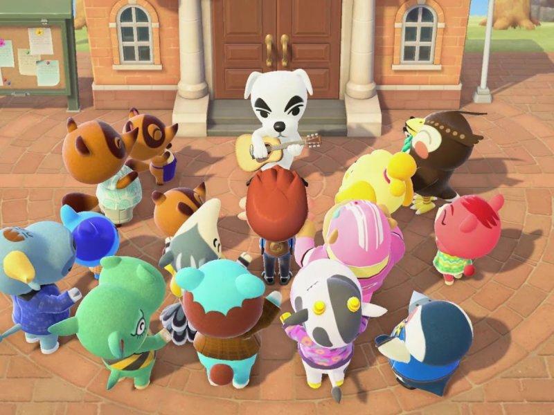 Animal Crossing New Horizons Kk Slider 2