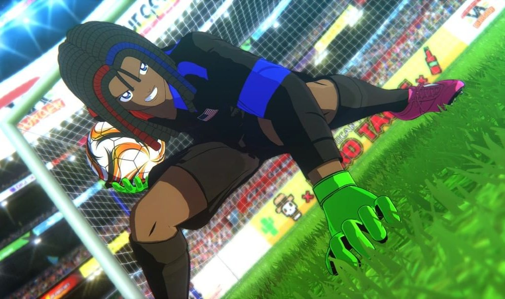 Captain Tsubasa: Rise of New Champions, its anime game sides