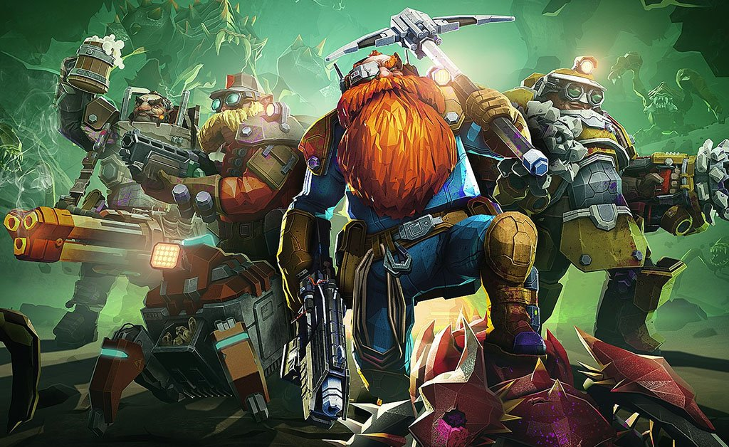 Deep Rock Galactic: New Frontiers, the new update will arrive in February