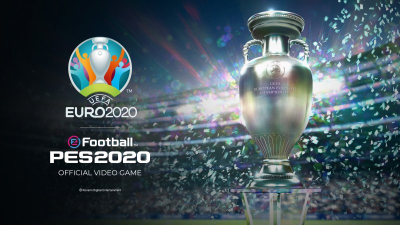 New Efootball Pes2020 Euro2020 Trophy