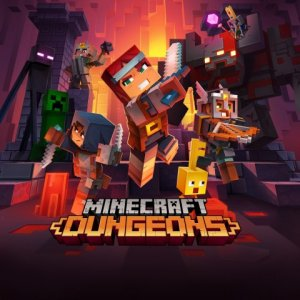 Minecraft Dungeons per PlayStation 4