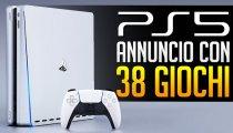 PS5: 38 Giochi e annuncio imminente!