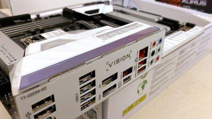 GIGABYTE Z490 VISION G, la recensione