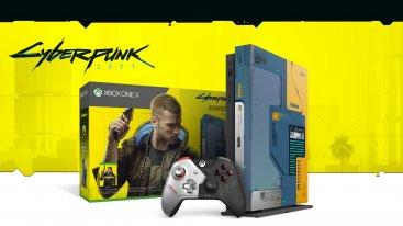 Xbox One X con Cyberpunk 2077 in bundle edizione limitata disponibile con sconto in promozione